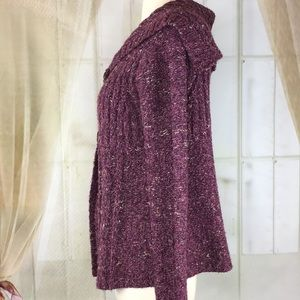 Charter Club Sweaters - Charter Club Purple Cardigan